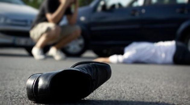 штраф за то, что сбил пешехода