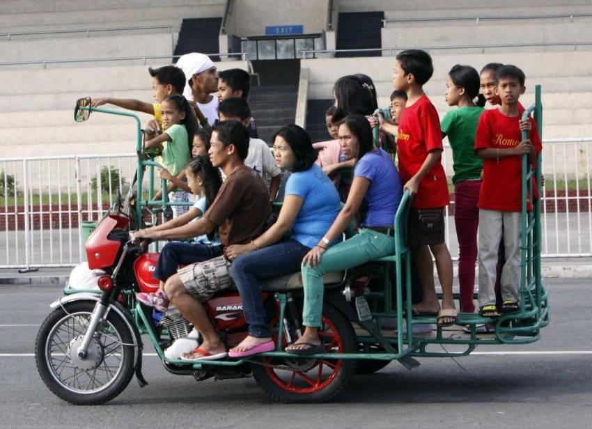 штраф за перевозку людей на мотоцикле