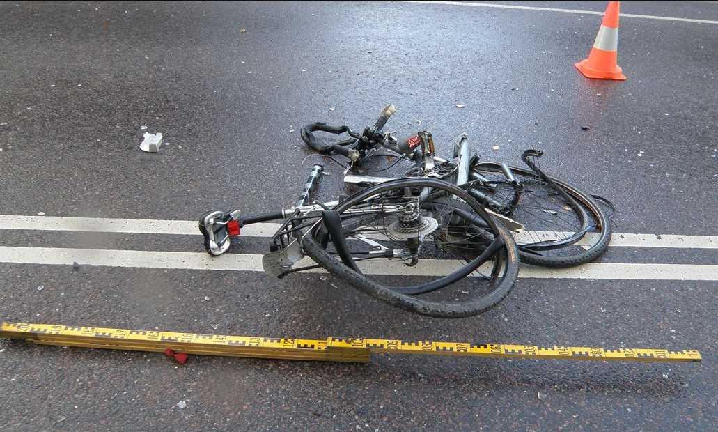 Причины ДТП с участием велосипедистов