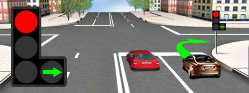 6. Сигналы светофора и регулировщика