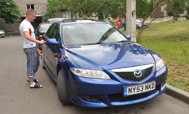 Езда на нерастаможенном авто в России