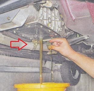 Как поменять масло в коробке передач ВАЗ 2107