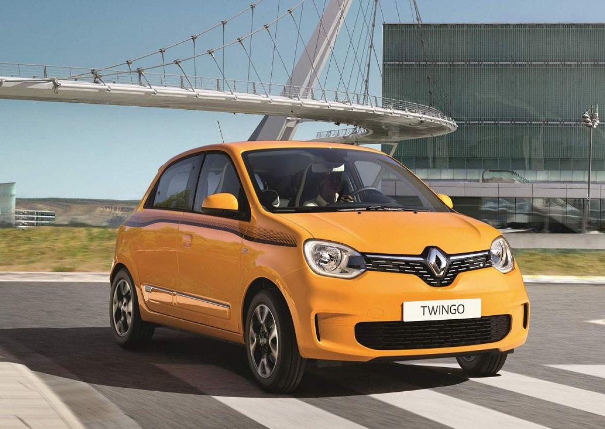 Renault Twingo Z. E. новый электромобиль в специальной версии.