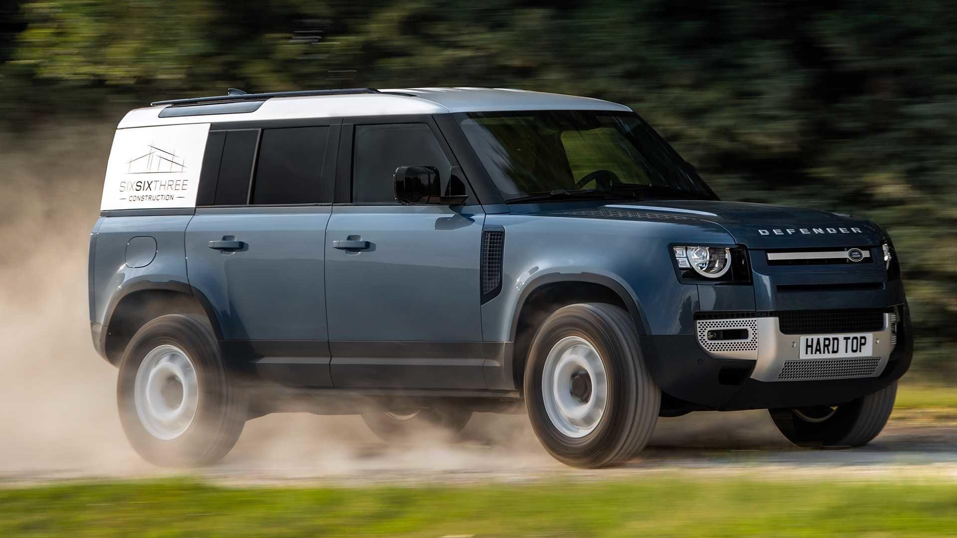 Новинка Land Rover Defender-вышла новая грузовая модификация