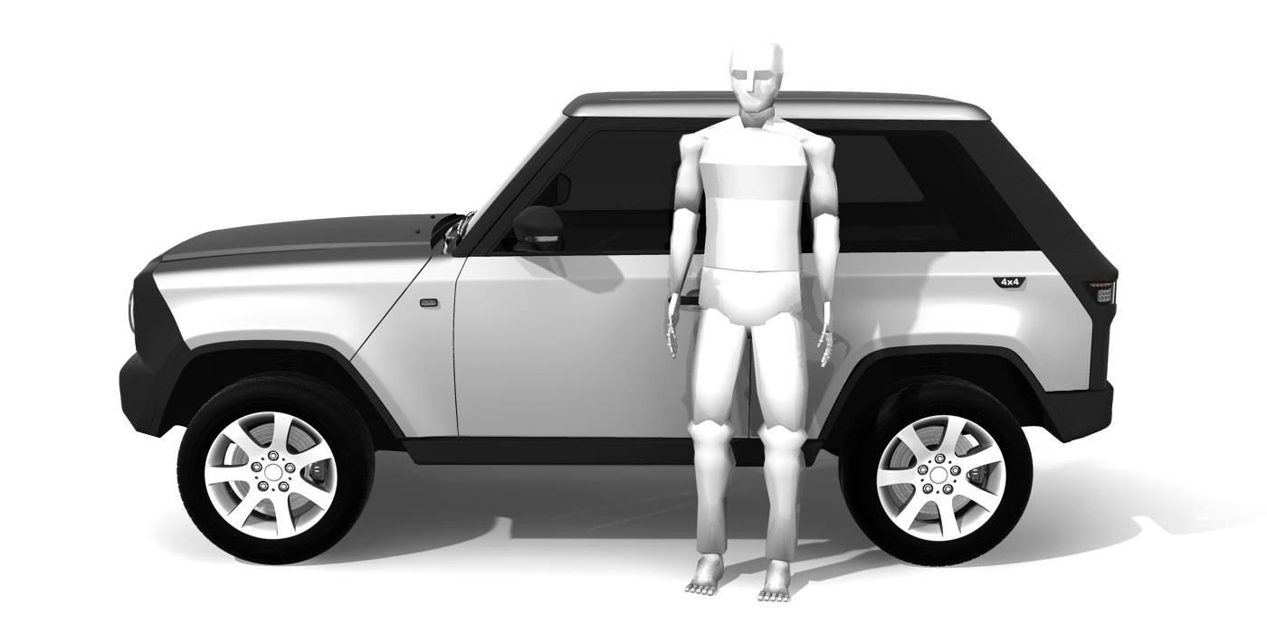 В Германии собираются выпускать внедорожник на базе Lada 4x4