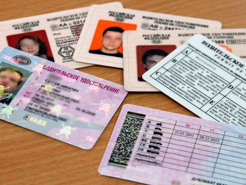 В России хотят внедрить водительские права нового образца