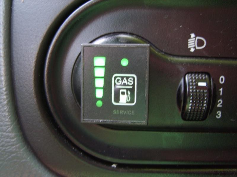 Датчики уровня газа ГБО: их характеристики и виды