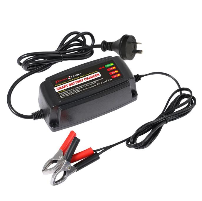 Автомобильное умное свинцово-кислотное зарядное устройство 12 В 5А