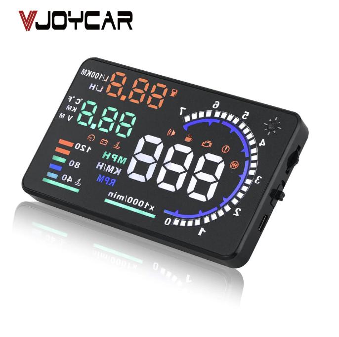 Автомобильный сканер скорости, дисплей 5,5 'A8 проектор скорости