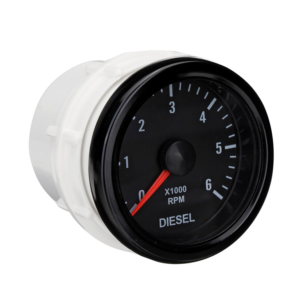 Электрический тахометр для дизельного двигателя 52 мм 0-6000 об/мин