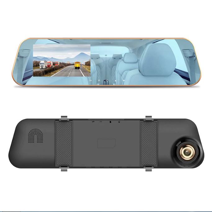 Maiyue star 4,3 full HD 1080P двойной объектив, автомобильный видеорегистратор