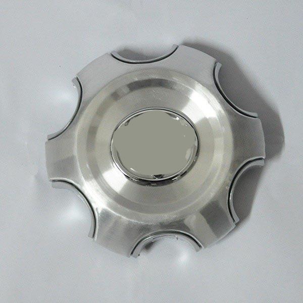 Серебристая хромовая крышка ступицы колеса 4 шт, колпачок ступицы для Toyota Land Cruiser 4000 Prado