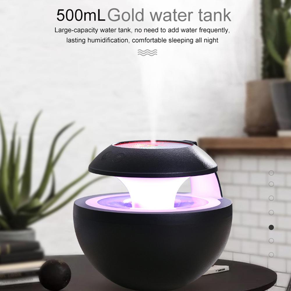 Ультразвуковой увлажнитель воздуха 400 мл домашний автомобильный арома-светильник