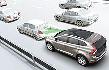 Безопасность в городе: Volvo представляет уникальную систему для избежания столкновений на низкой скорости