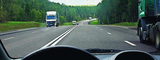 ПДД — Обгон и опережение транспортного средства