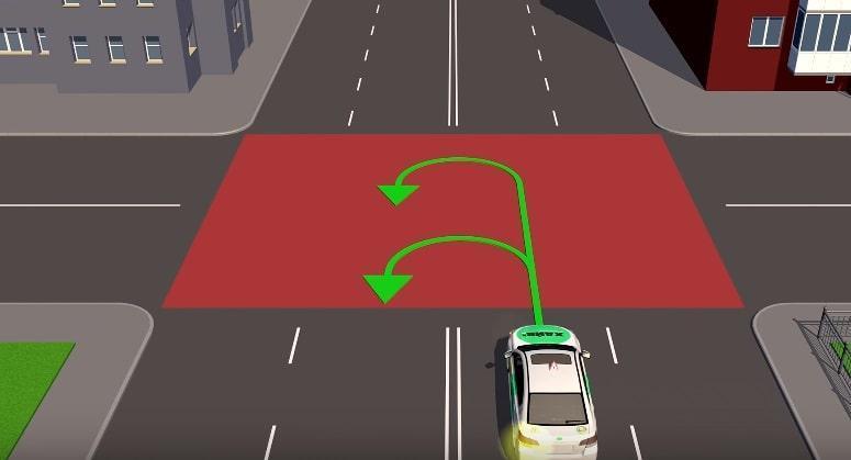 Разворот на перекрестке по ПДД, как правильно развернуться.