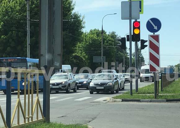 Штраф за пересечение стоп-линии перед светофором
